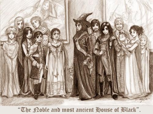 La Noble y Ancestral Casa de los Black - Manechan