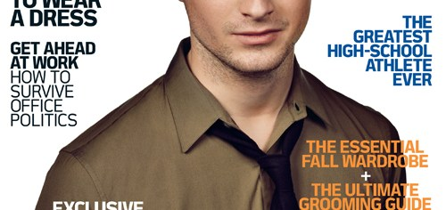 Daniel Radcliffe, Portada de Details