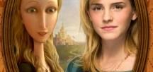 Emma Watson y la Princesa Pea