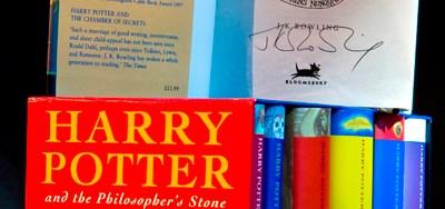 Set de Libros de Harry Potter