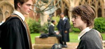 Harry Potter y Cedric Diggory