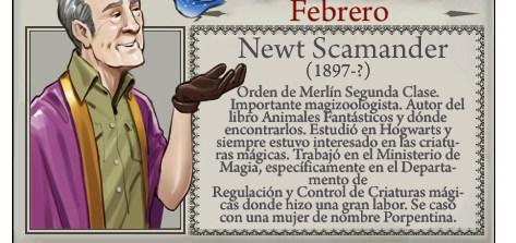 Newt Scamander - Mago del Mes Febrero