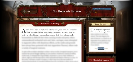 Harry Potter BlogHogwarts Pottermore 01