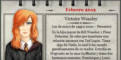 Harry Potter BlogHogwarts Victoire Weasley