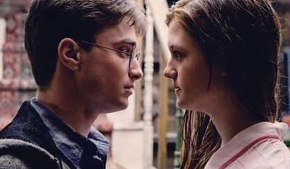 Harry Potter BlogHogwarts Harry y Ginny San Valentin