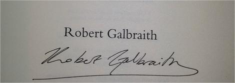 Harry Potter BlogHogwarts Robert Galbraith