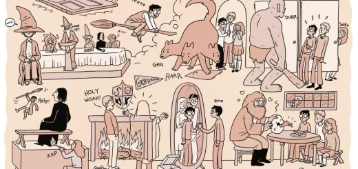 Harry Potter BlogHogwarts Tira Comica (1)