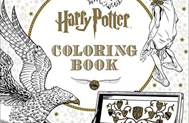 harry potter libro colorear