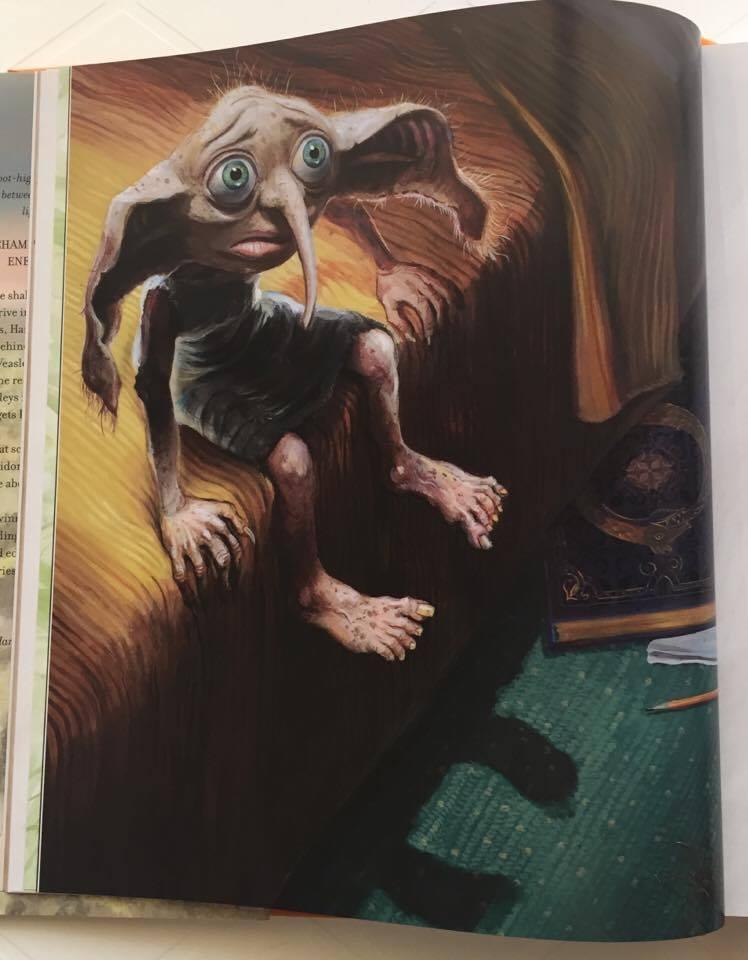 'Harry Potter y la Cámara Secreta' Ilustrado: Capítulo 2