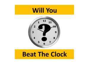 Beat The Clock HUD FHA Handbook 4000.1
