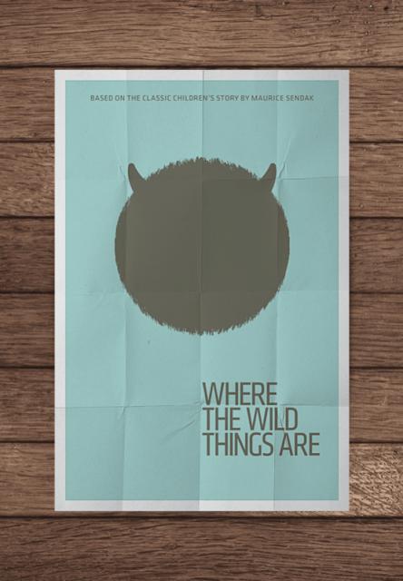 Pôsteres minimalistas de filmes famosos
