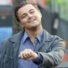 Nada abala o humor do DiCaprio!