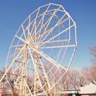 Parque sem diversão: atrações abandonadas