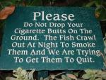 Getting the Fish to Stop Smoking