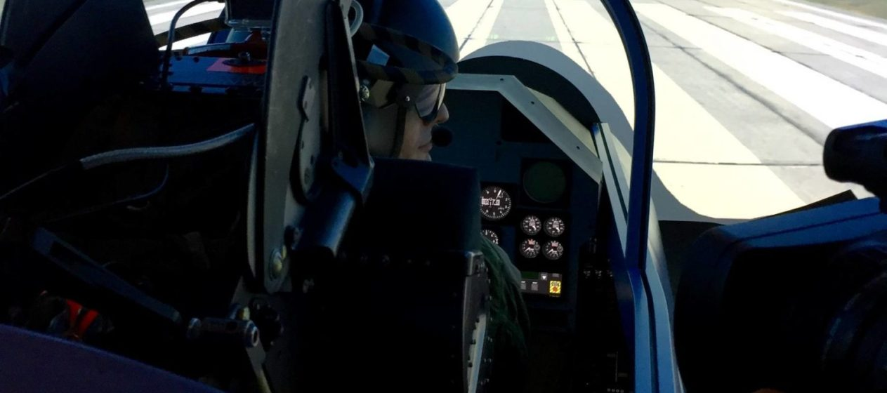 Skycenter simulateur avion chasse Strasbourg Entzheim