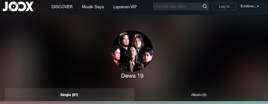 Dewa 19 Lagu Album Musik JOOX