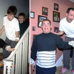 3 fiútestvér újrafotózta gyerekkori képeiket… íme az eredmény!