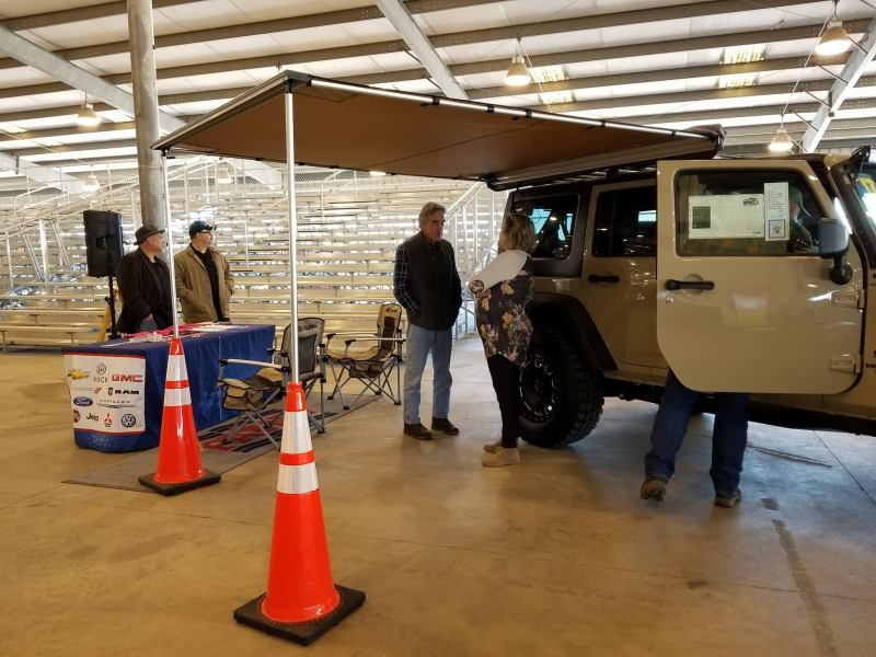 Payne Mission Archives   Payne It Forward Attendees get their own personal view of the 2017 Jeep Wrangler