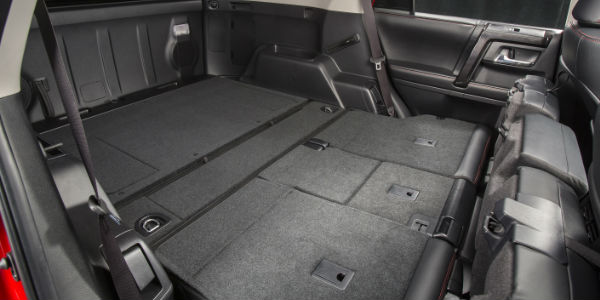Side View Of 2017 Toyota 4Runner Cargo Space
