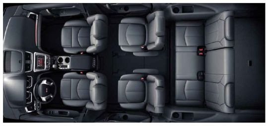 SUV with a Spacious Third Row of Seating gmc acadia seating