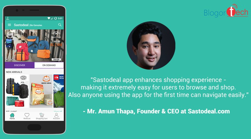 APP LAUNCH: Sastodeal Launches its Official App for Android