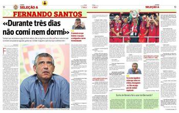 """Campe�o da Euro, t�cnico de Portugal avisa: """"N�o sou pago para dar espet�culo"""""""