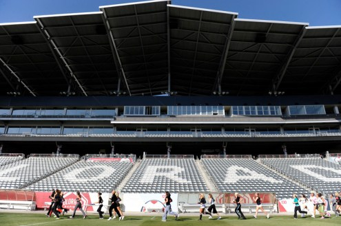Dick's Sporting Goods Park in Commerce City. (Andy Cross, The Denver Post)