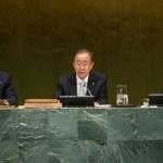 """Ban Ki-Moon: """"La humanidad nunca ha enfrentado un desafío tan grande"""""""