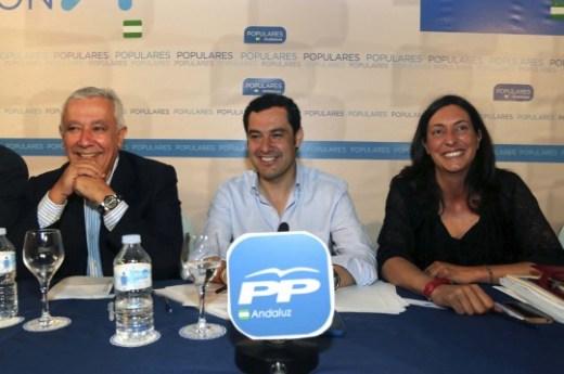 MORENO CLAUSURA REUNIÓN DEL GRUPO PARLAMENTARIO DEL PP-A