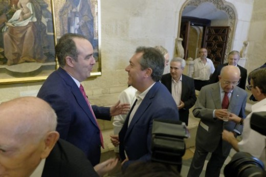 Reunidón de los que fueron concejales del 83 al 87 y del 87 al 91,coincidiendo que fue alcalde Manuel del Valle