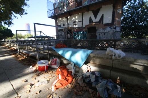 Reportaje sobre las malas condiciones del a zona del Paseo de Juan Ca