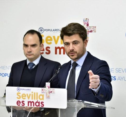 Beltrán Pérez informa sobre el presupuesto de 2018