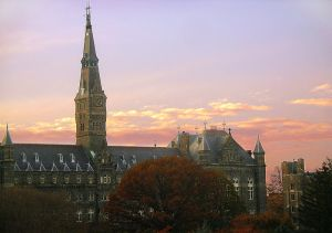 "Each of the movies are set in Georgetown. ""St. Elmo's Fire"" is about graduates from Georgetown University.  Photo by Wikimedia Commons user patrickneill used under a CC BY-SA 3.0 license"
