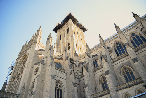 After a few days of classes, unwind with Tai Chi at the National Cathedral on Wednesday. Photo by flickr user Francisco Daum used under a CC-BY 2.0 licence.