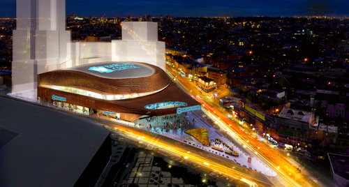 barclays center brooklyn new york
