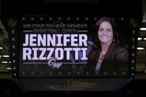 Jennifer Rizzotti was announced as head coach of the women's basketball team on April 15. Rizzotti brings to GW experience as a player and coach. Dan Rich | Contributing Photo Editor