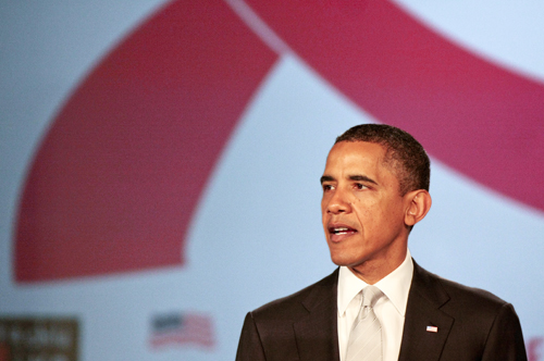 President Barack Obama, HIV, AIDS