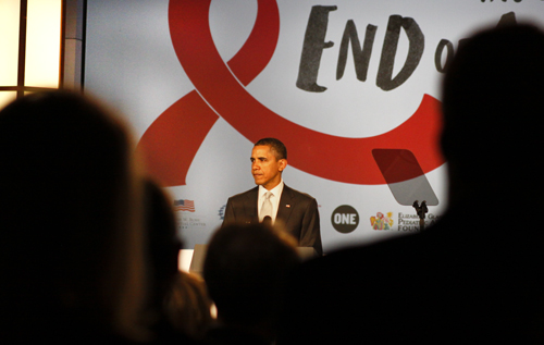 President Barack Obama, AIDS, HIV