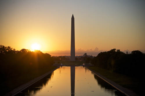 The National Parks Services announced Monday that the Washington Monument would be closed indefinitely to address elevator issues. Hatchet File Photo