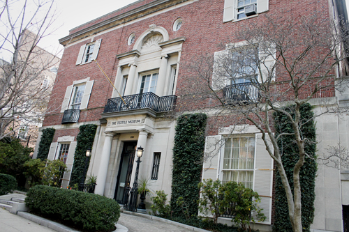 The S street building that used to house the Textile Museum was sold for $19 million to a private owner. Hatchet file photo.