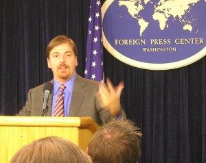 Chuck Todd, a former GW student, will anchor NBC's Meet The Press show.