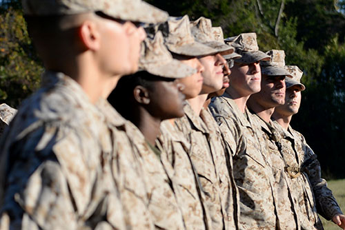 The University's Naval Reserve Officer Training Corps gives students a taste of military life and leadership training during college. The NROTC program also includes students – called midshipmen –  from the University of Maryland at College Park, Catholic University of America and Georgetown and Howard universities.