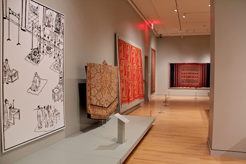 The new GW Museum and Textile Museum, which opens on Saturday, includes textiles that are more than 5000 years old. Leah Edwards | Hatchet Photographer
