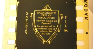 MA safety film logo one frame