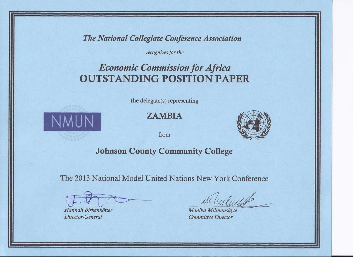model united nations posotion paper Caimun 2018: the fastest growing model united nations conference in canada.