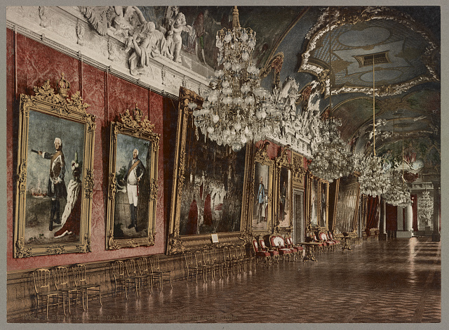 Berlin. Bildergallerie im Königlichen Schlosse. Photochrom by Photoglob Co., between 1890 and 1906. //hdl.loc.gov/loc.pnp/ppmsca.52517