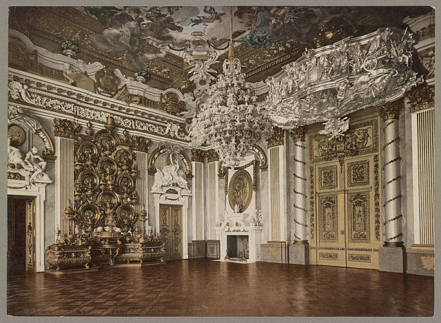 Berlin. Thronsaal im Königlichen Schlosse. Photochrom by Photoglob Co., between 1890 and 1906. //hdl.loc.gov/loc.pnp/ppmsca.52519