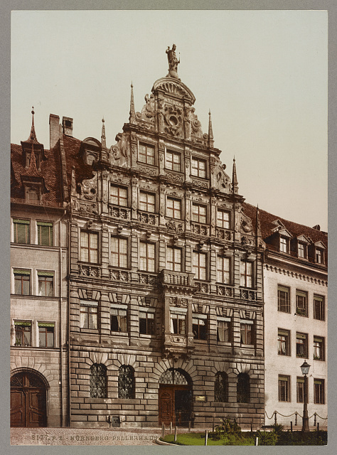 Nürnberg. Pellerhaus. Photochrom by Photoglob Co., between 1890 and 1906. //hdl.loc.gov/loc.pnp/ppmsca.52600