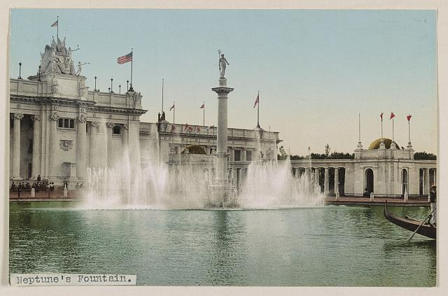 Neptune's Fountain. Photochrom by Detroit Photographic Co., between 1890 and 1906. //hdl.loc.gov/loc.pnp/ppmsca.52914