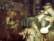 Joseph Wright of Derby - The Alchemist in Search of the Philosopher's Stone small
